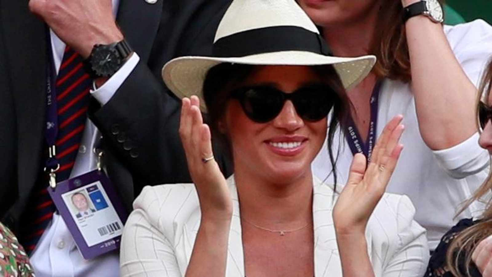No Meghan Markle snaps for tennis fans