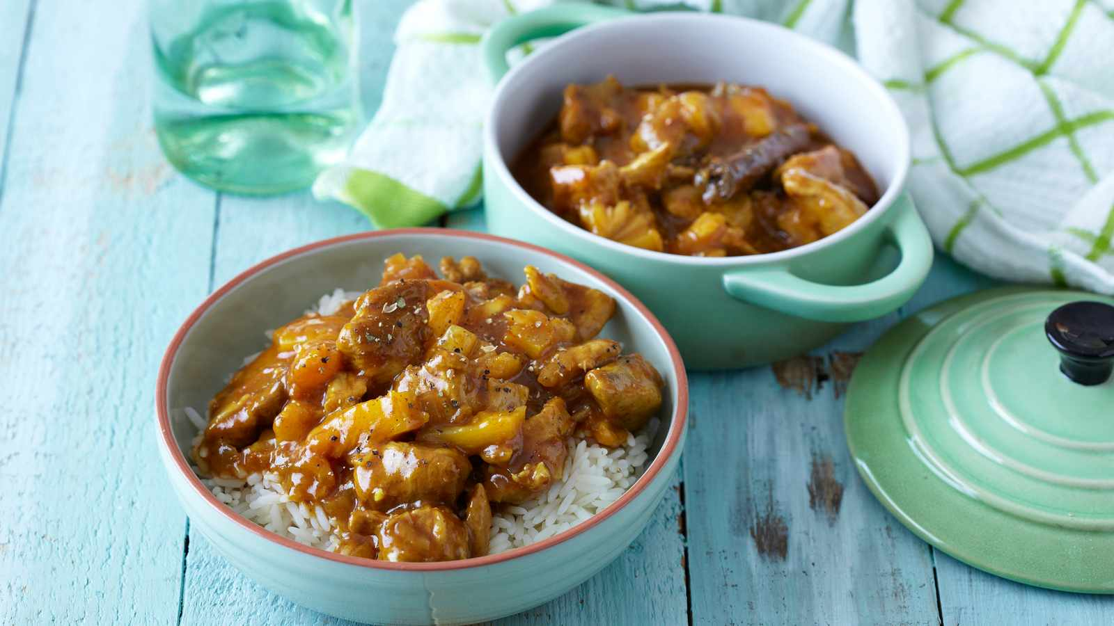 Lekker Pork, Chicken and Pineapple Low Cost Curry