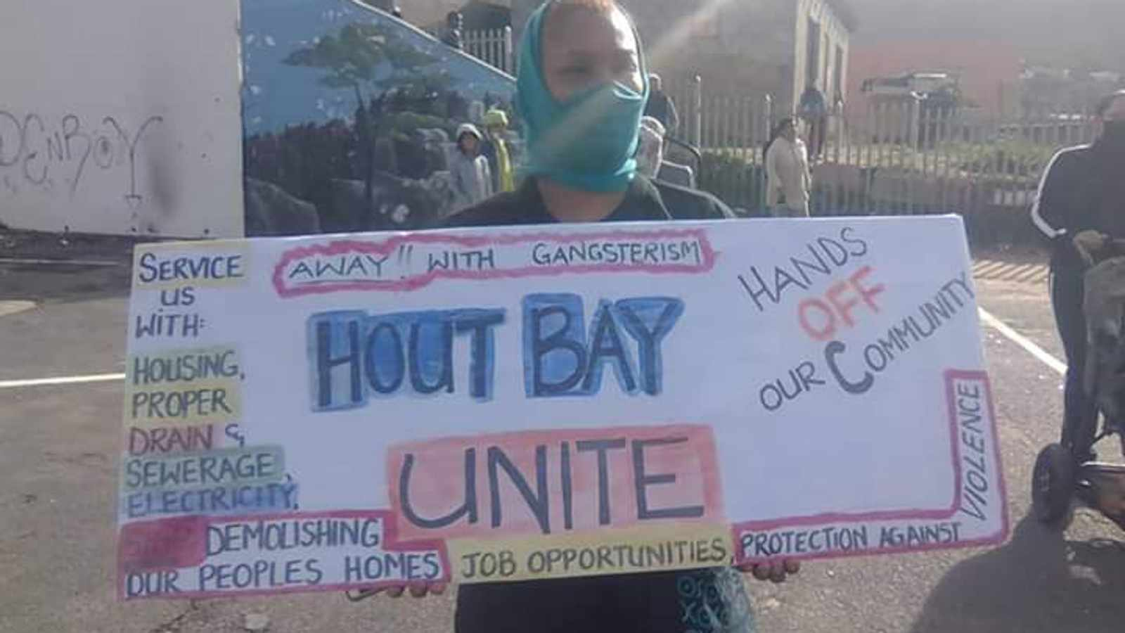 Hangberg residents protest against evictions