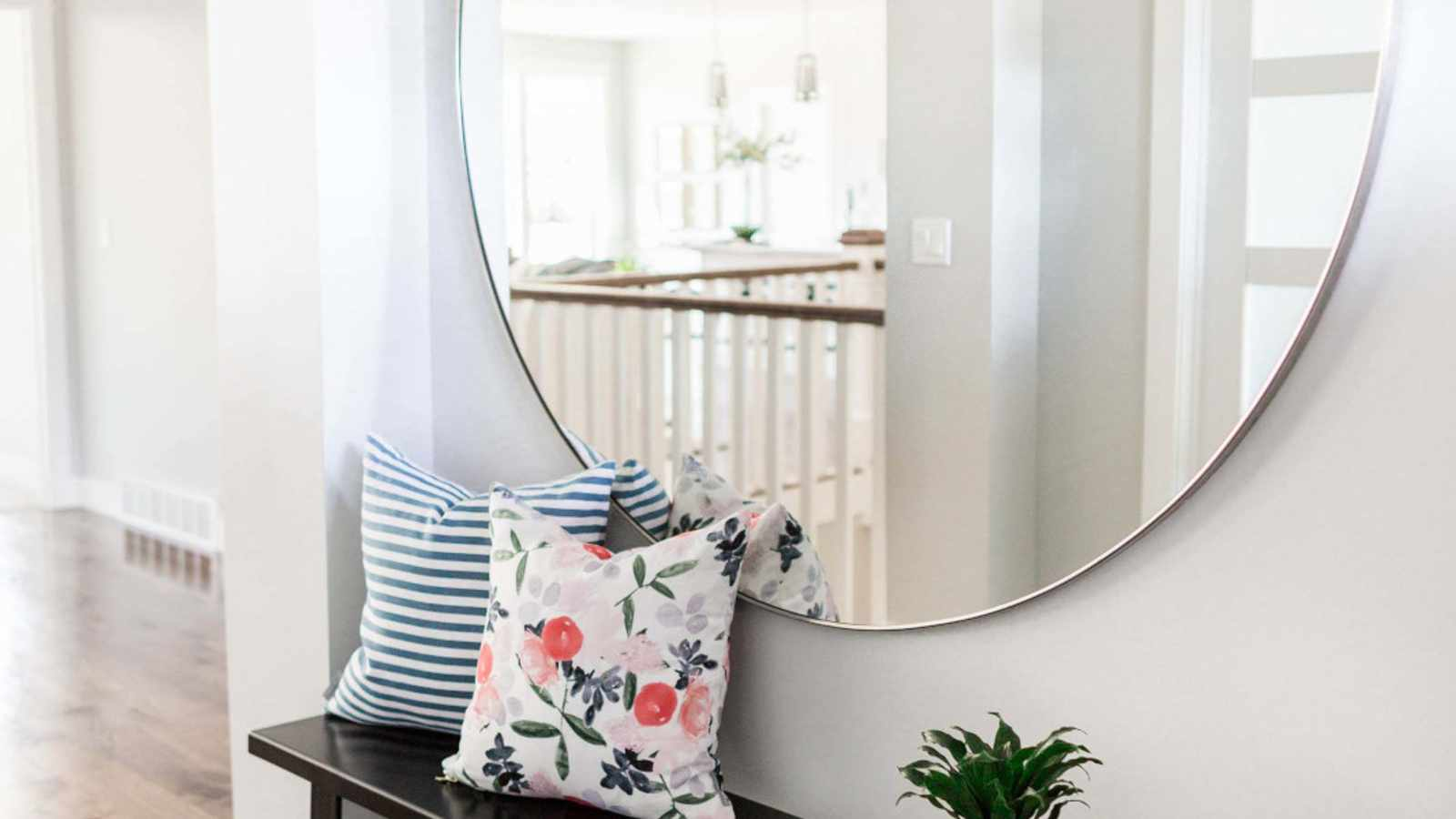 How to decorate with mirrors without turning your home into a fun house