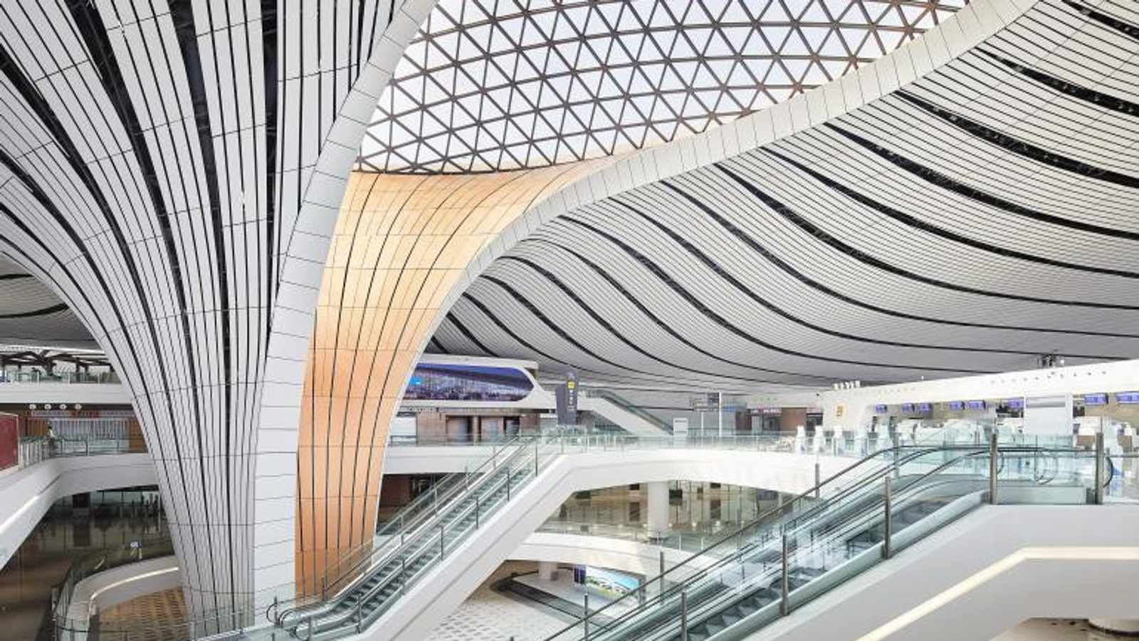 Zaha Hadid's Stunning Beijing Daxing International Airport Is Finally Completed