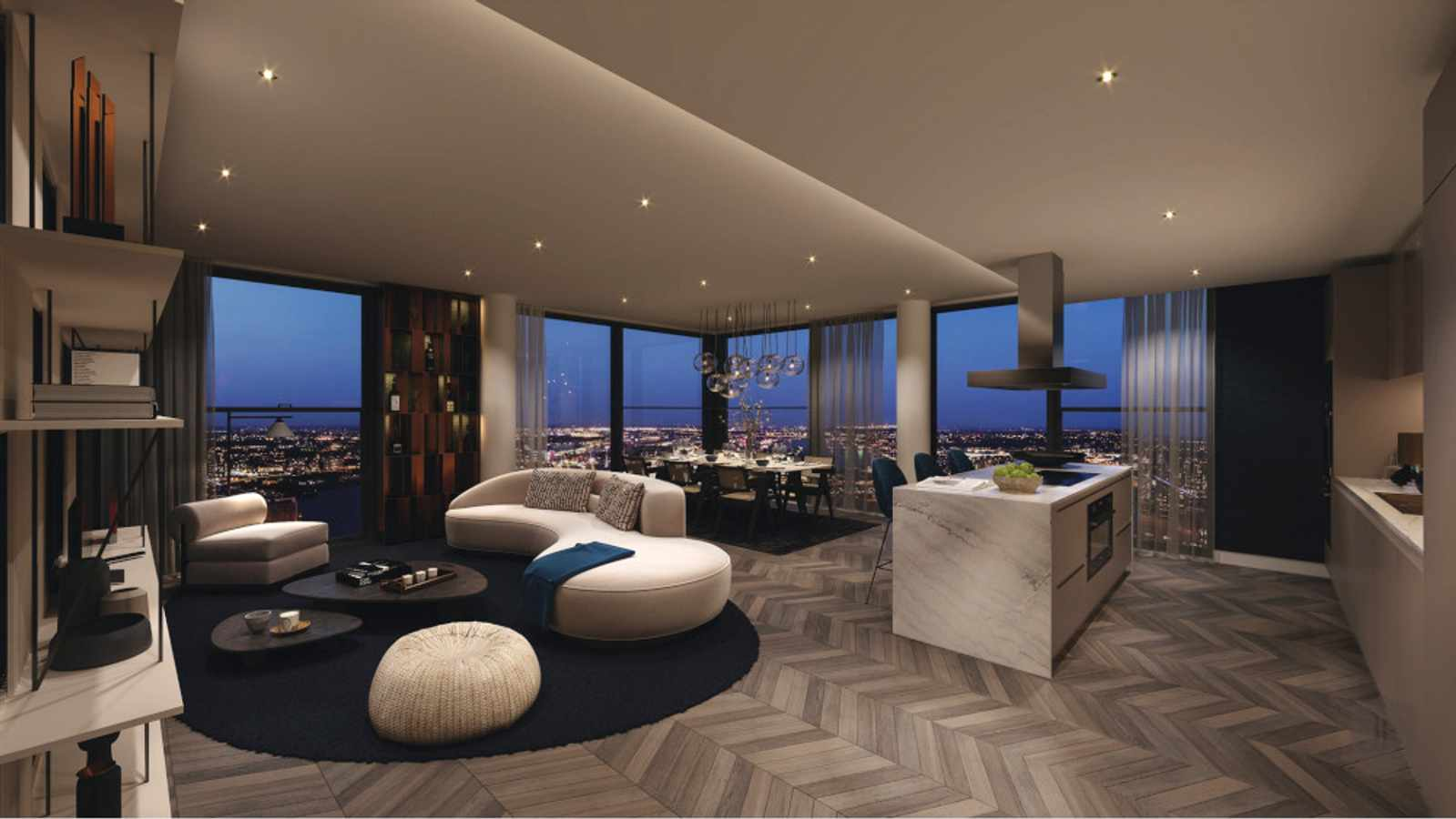 Inside a $30M (R431 Mill) Park Avenue Penthouse with A Rooftop Pool