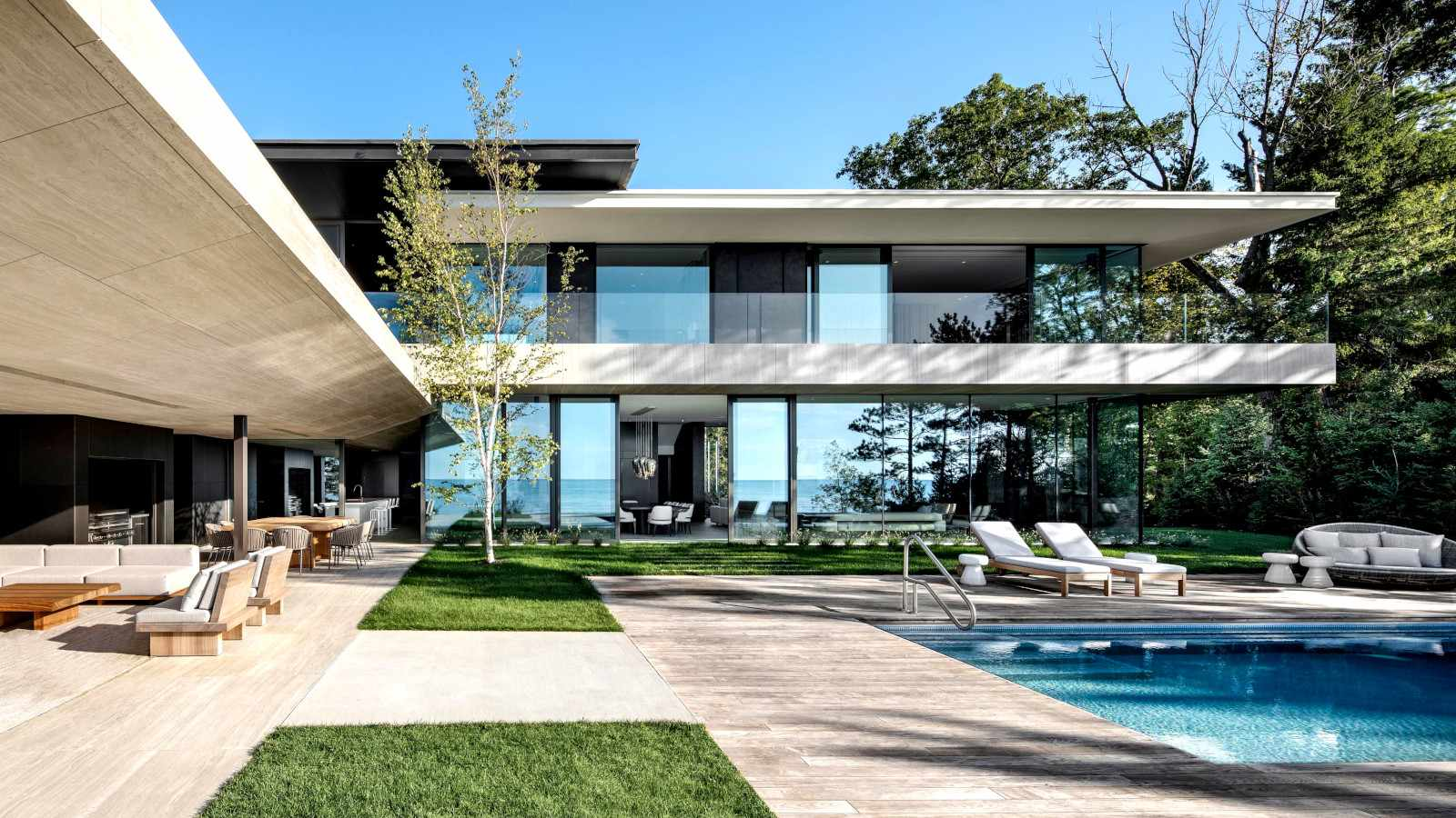 Inside a South African designed Canadian home