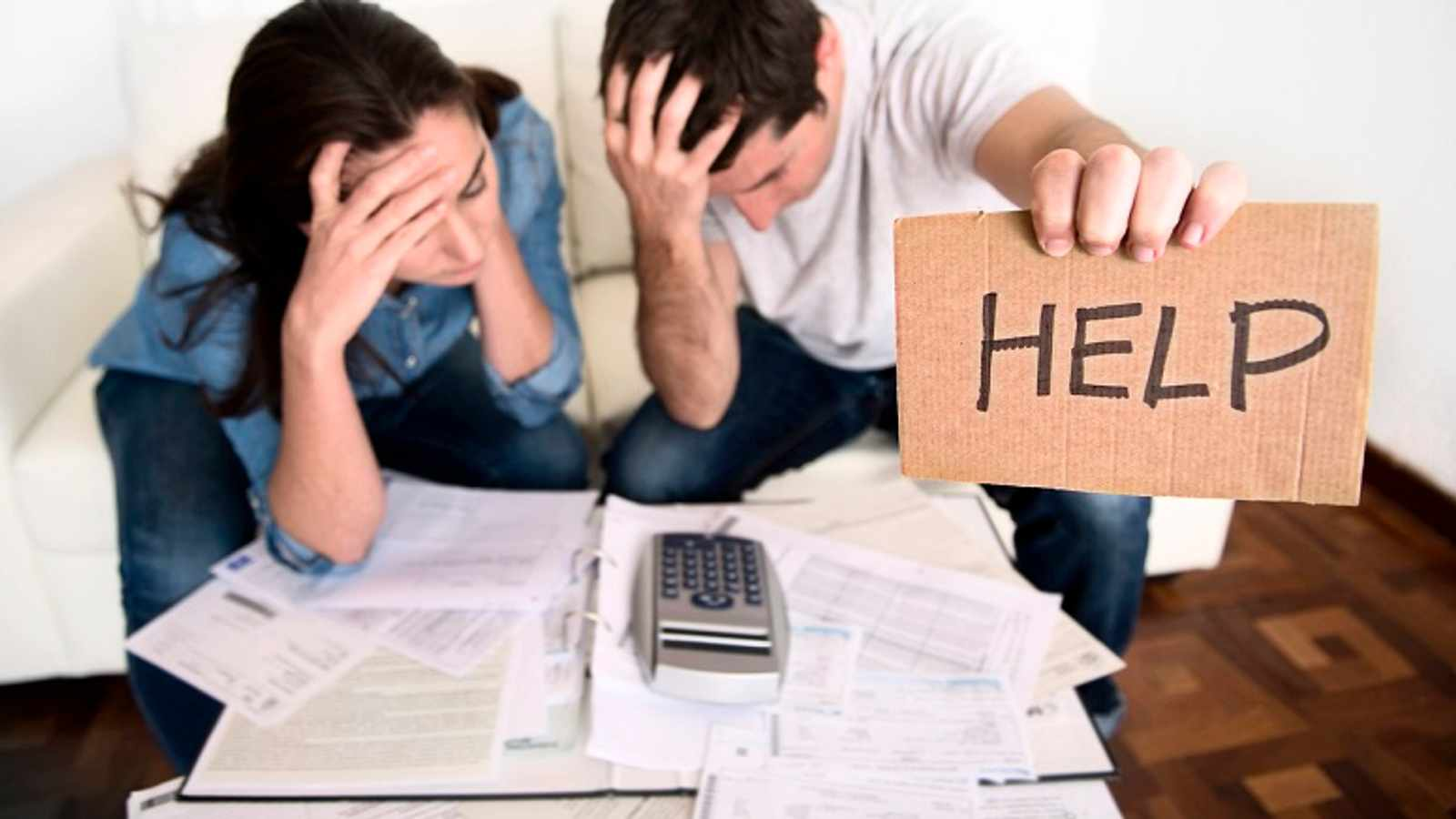 REK YOUR CHEQUE: Stay inside and save if possible