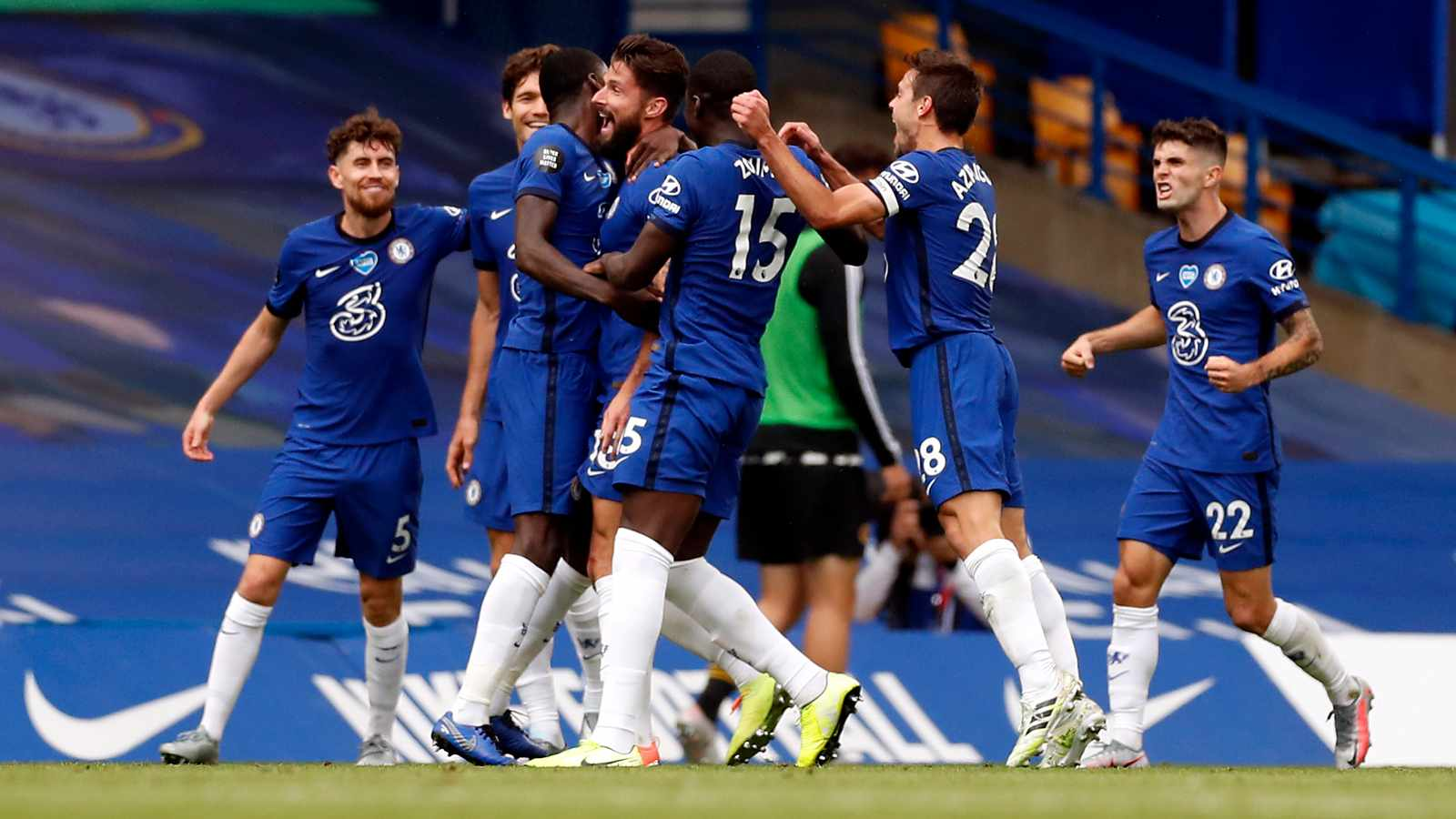 The agony and Blues ecstasy