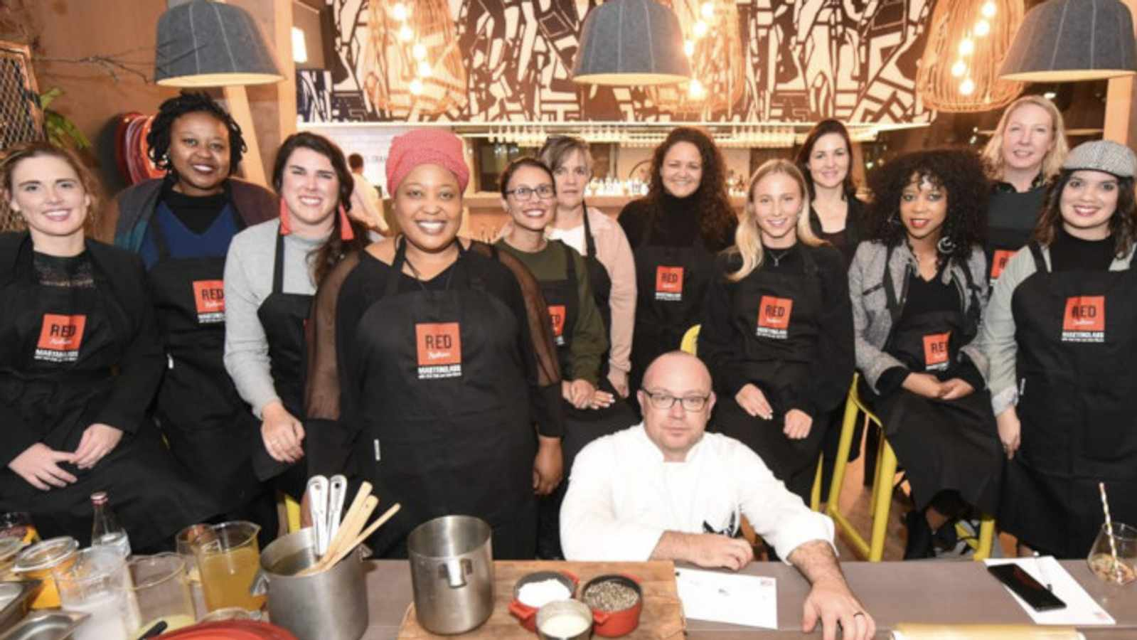 A seat at the table with two local master chefs