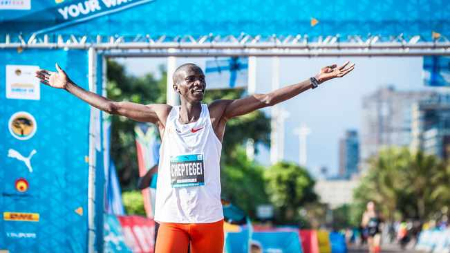 Ugandan Cheptegei 5000m world record ratified