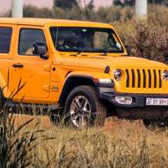The new generation Jeep Wrangler refined but still conquers the off road