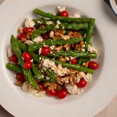 The Asparagus, Tomato and Feta salad