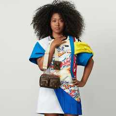 Naomi Osaka named Louis Vuitton's new brand ambassador