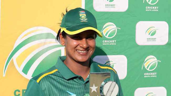 Trisha Chetty is showing she still one of the best