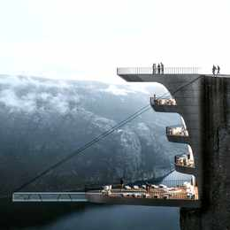 Would You Stay in This Hotel That Hangs 1,982 Feet Over a Cliff?