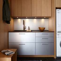 Six ways to make a laundry room somewhere you actually want to spend time