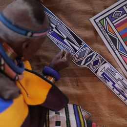 Disrupting Patterns – a Solo Exhibition by Dr Esther Mahlangu