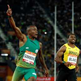 Akani Simbine makes Commonwealth Games history with 100m gold