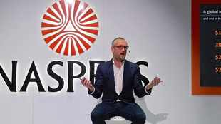 WATCH: Naspers tumbles more than 30% as subsidiary Prosus lists in Amsterdam