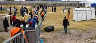 Covid-19 lockdown: Homeless people 'clash with officers' in Strandfontein