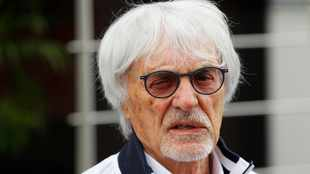 'Not my fault I'm white' - Bernie's bizzare defence following race row