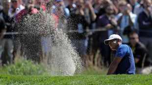 Tiger in the trenches at PGA Championship, fine round for Koepka