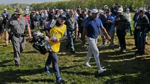 Two double-bogey disasters for Tiger Woods at PGA Championship