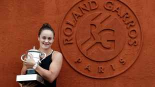 French Open champion Barty surges up to second on WTA rankings