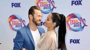 WATCH: Nikki Bella and Artem Chigvintsev's Mexican-themed gender reveal party