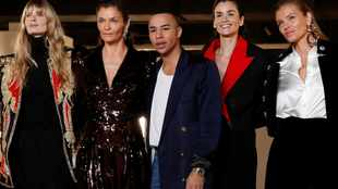 Balmain to launch fashion week boat on the River Seine
