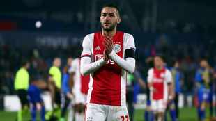 New Chelsea signing Ziyech happy that future is secure