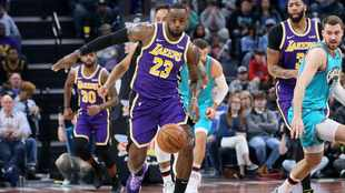 Lakers want to continue roll they were on before coronavirus outbreak