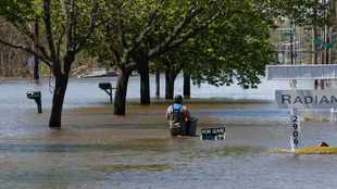 LOOK: Central Michigan city submerged after two dams breached by 'life-threatening' flood