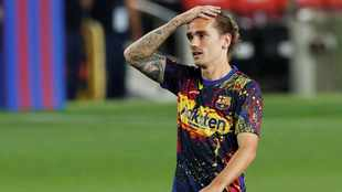 Griezmann decline deepens with stoppage time cameo against Atletico