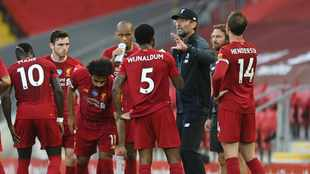 Klopp hoping to keep Liverpool's title-winning squad intact