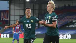 Season could be over for key Burnley pair Mee and Cork