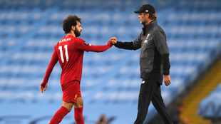 Liverpool on track for points record as Salah scores twice