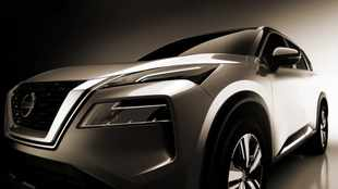 New Nissan X-Trail shows its double-decker face ahead of its reveal