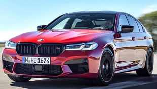 BMW M5 gets a new face lift and upgraded chassis for 2020