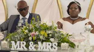 PICS: After 10 'tough' years, 11 kids #OPW couple say 'I do'
