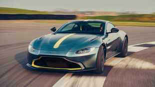 Aston Martin unleashes Vantage AMR with seven-speed manual