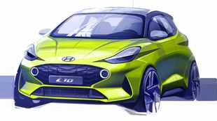 Hyundai shows off funky new i10 in official sketch