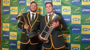 That winning smile - confidence high in the Bok camp