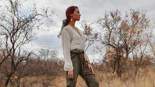 PICS: Miss Universe Catriona Gray's first safari experience in SA