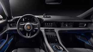 Porsche shows us inside its upcoming Taycan electric car