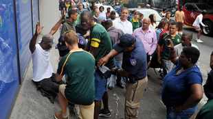 WATCH: No record of pickpocketing, violence says Cape Town SAPS after Springbok tour