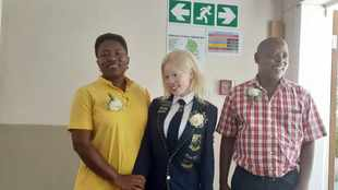 Visually impaired matriculant from Prinshof School gets top marks