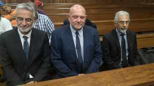 WATCH: SARS 'rogue unit' accused all smiles after judge dismisses charges