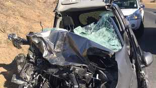 Two separate car crashes on Western Cape roads leaves four dead, two critical