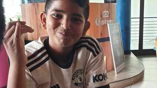 'My 9-year-old nephew Ezra is the biggest Manchester United fan I know!'