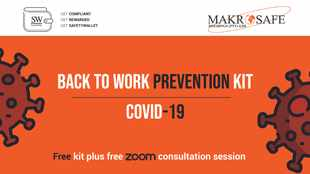 Level 3 lockdown compliance to health and safety seasures