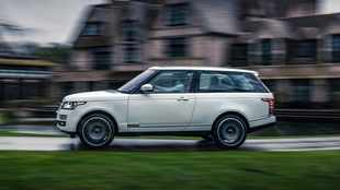 Range Rover Adventum Coupe: Yes, your neighbours will know 'You've Arrived'