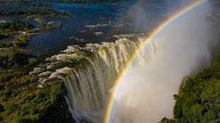 WATCH: Gripping video shows Victoria Falls year-long highest and lowest water levels